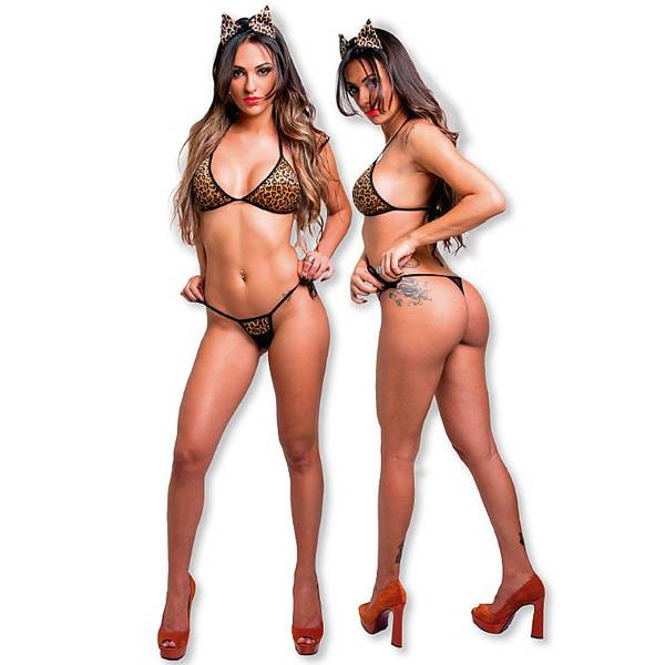 Fantasia Oncinha Sexy - Fácil Prazer - SEX SHOP CURITIBA