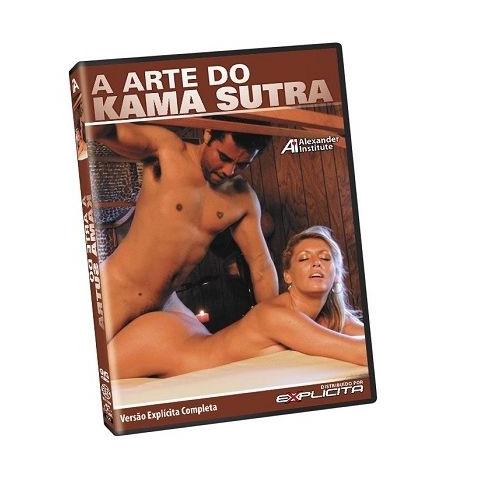 DVD Erótico A arte do Kama Sutra - Coleção Amor e Sexo - SEX SHOP CURITIBA