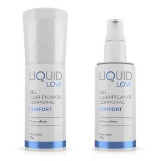 Lubrificante Liquid Love Confort Para Sexo Anal Dessensibilizante