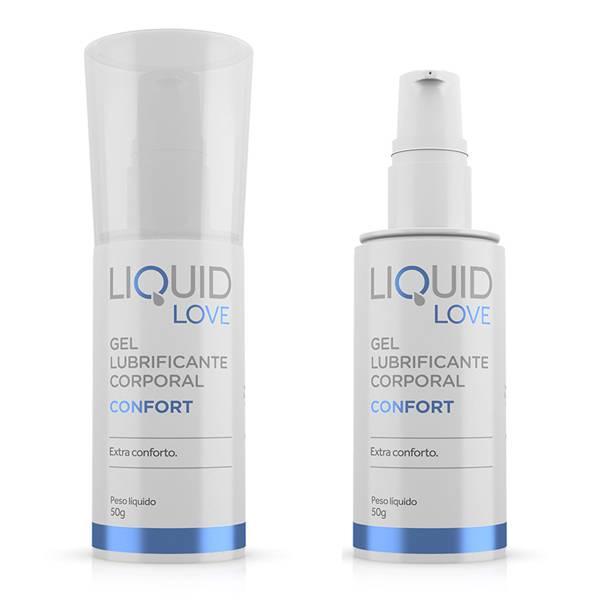 Lubrificante Liquid Love Confort Para Sexo Anal Dessensibilizante - SEX SHOP CURITIBA