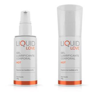 Lubrificante Liquid Love HOT 50g