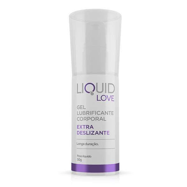 Lubrificante Gel Extra Deslizante Textura Densa - Liquid Love - SEX SHOP CURITIBA