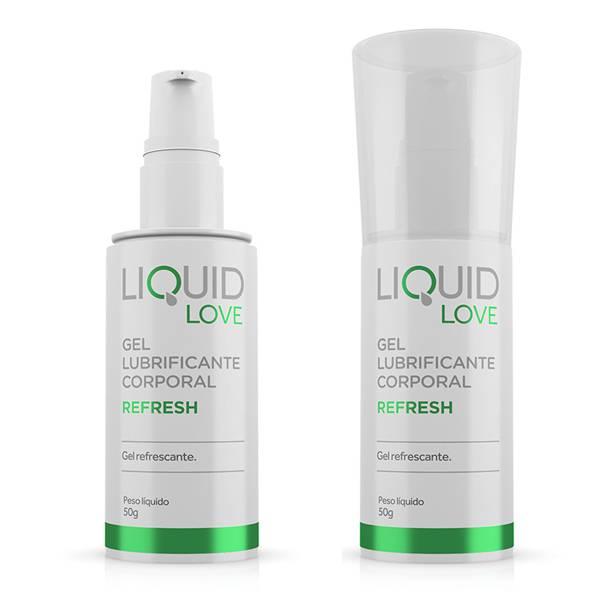 Lubrificante Refresh Sensação de Frescor - Liquid Love - SEX SHOP CURITIBA