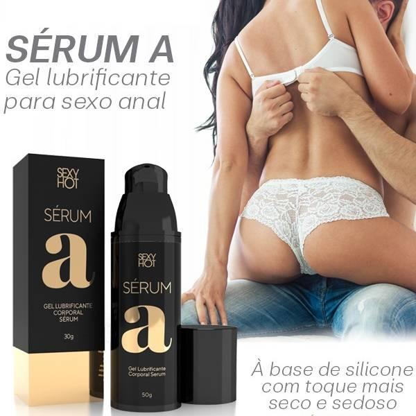 Lubrificante Siliconado Sérum A - Sexy Hot - SEX SHOP CURITIBA