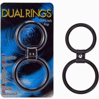 Anel Duplo Peniano e Escrotal Dual Rings