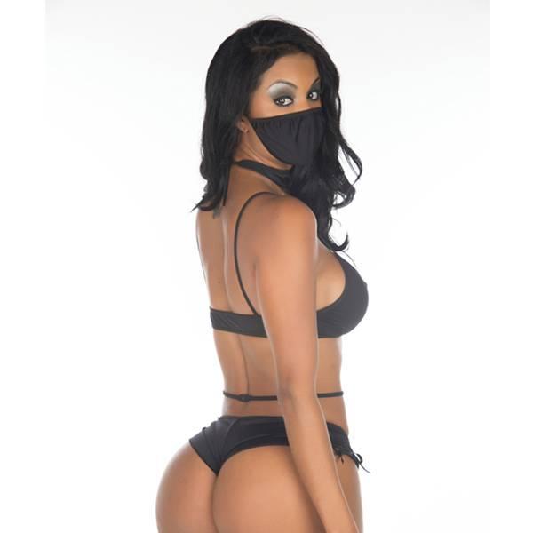 Fantasia Ninja Negra - SEX SHOP CURITIBA