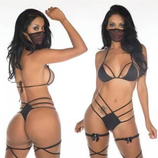 Fantasia Erótica Ninja Negra