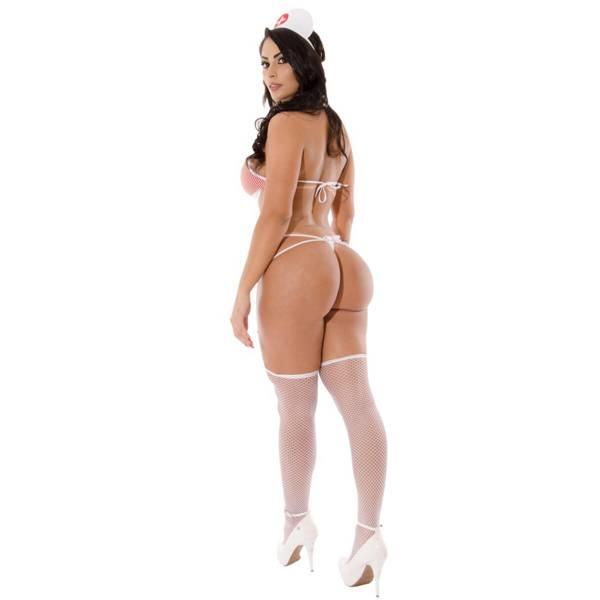 PROMOÇÃO Fantasia Erótica Body Médica Sapeka - SEX SHOP CURITIBA