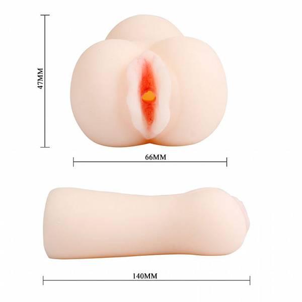 Masturbador Vagina Carnudinha Realístico Cyber Skin - SEX SHOP CURITIBA