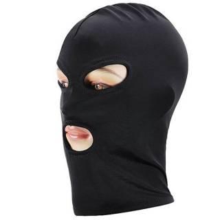 Capuz com Abertura Nos Olhos e Boca - Máscara