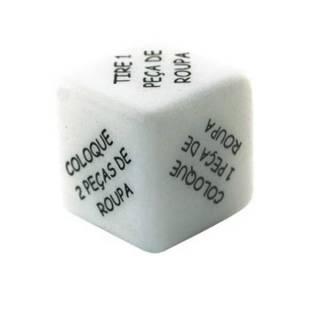 Dado Jogo Strip ao cubo