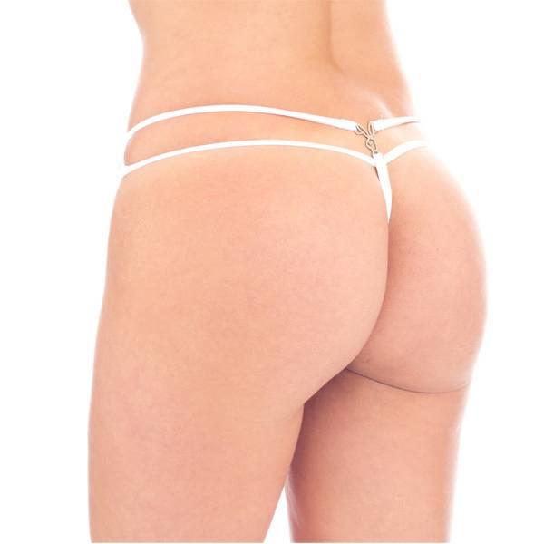 Calcinha Fio Dental e Pingente da Playboy - SEX SHOP CURITIBA