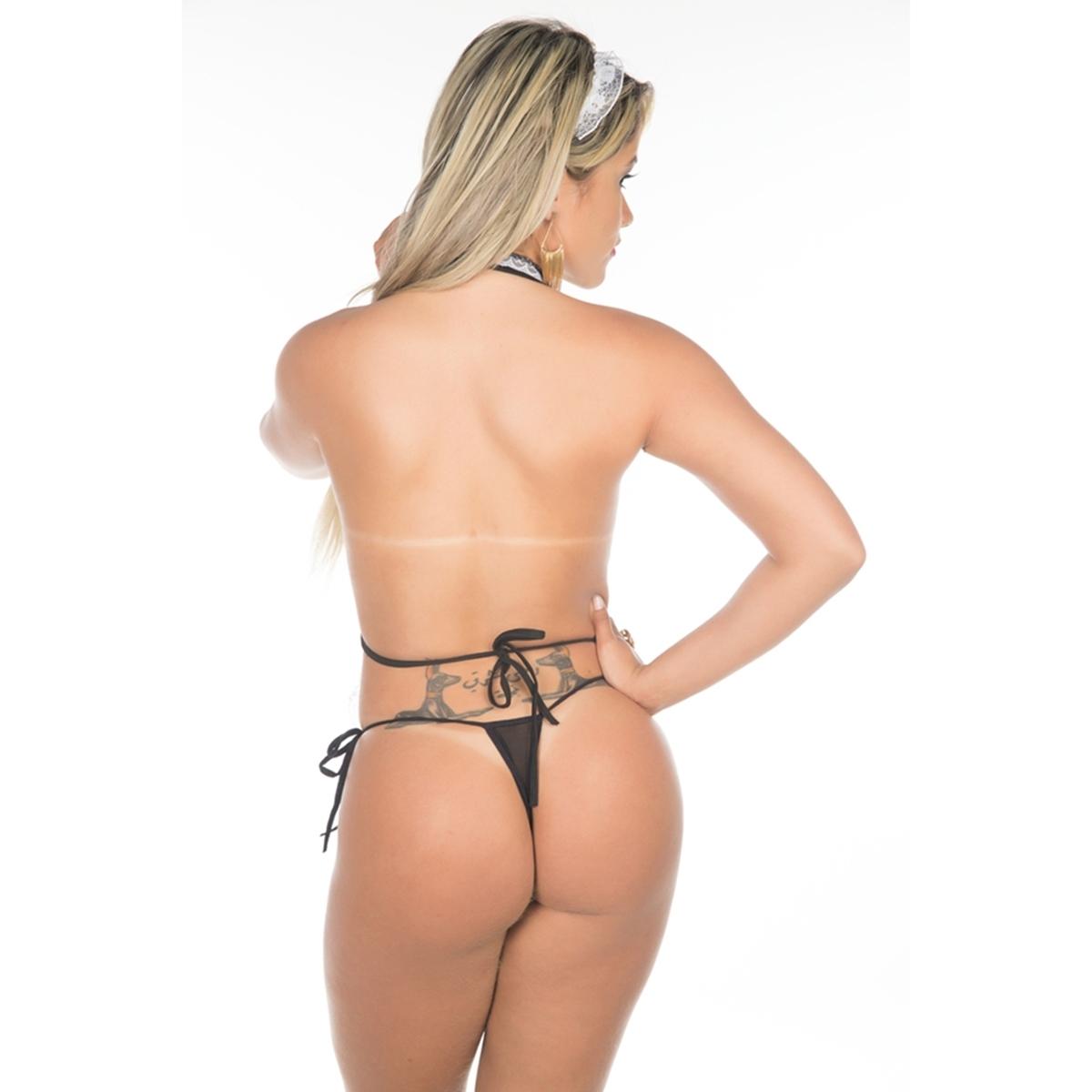 Fantasia Copeira Sexy - SEX SHOP CURITIBA