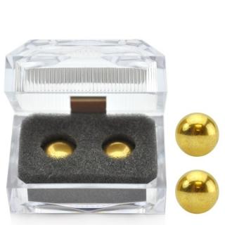 Bolas Para Pompoarismo Douradas