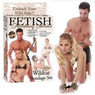 Kit Fetiche Sensual de Leopardo