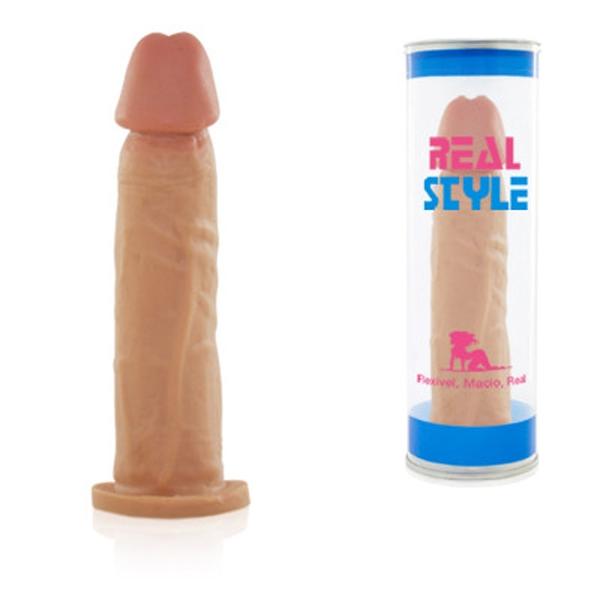 Pênis Realístico 18x4cm Real Peter Tubo - SEX SHOP CURITIBA