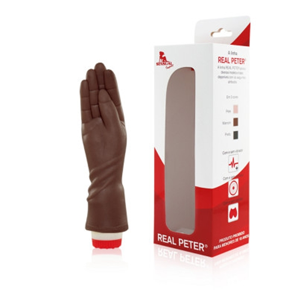 Mão Morena Penetrável Com Vibrador - Fisting Fistfucking - SEX SHOP CURITIBA
