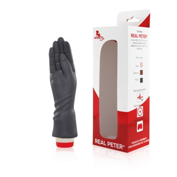 Mão Negra Penetrável Com Vibrador - Fisting Fistfucking - SEX SHOP CURITIBA