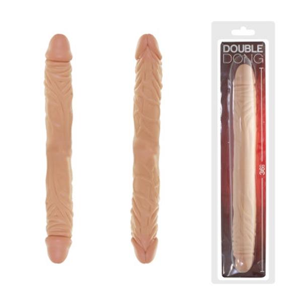 Pênis Duplo 36x4 cm - Real Peter - SEX SHOP CURITIBA