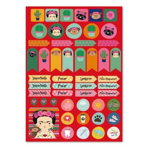 Adesivo Papel Colores - 2 cartelas - Doutor Design