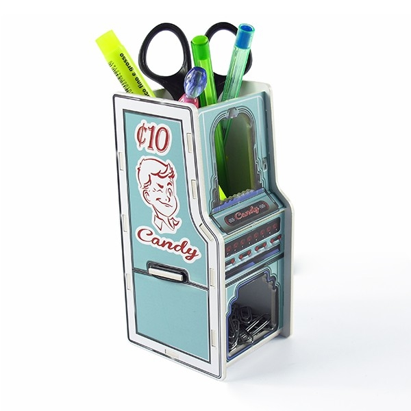 Porta Canetas Lápis e Clips Candy