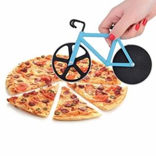 Cortador de Pizza Bicicleta Azul