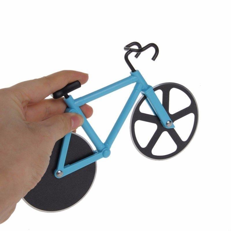 Cortador de Pizza Bicicleta Azul - Doutor Design