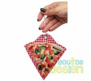 Etiqueta de Bagagem Fatia de Pizza