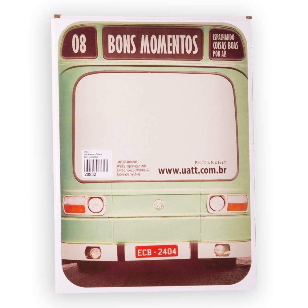 Porta Retrato Ônibus Bons Momentos - Doutor Design
