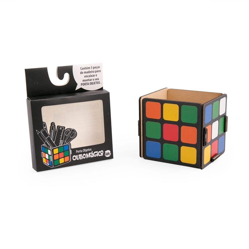 Porta Objetos Cubo Mágico - Doutor Design