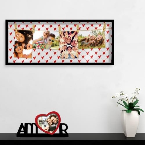 Quadro Fotos Amor - Doutor Design