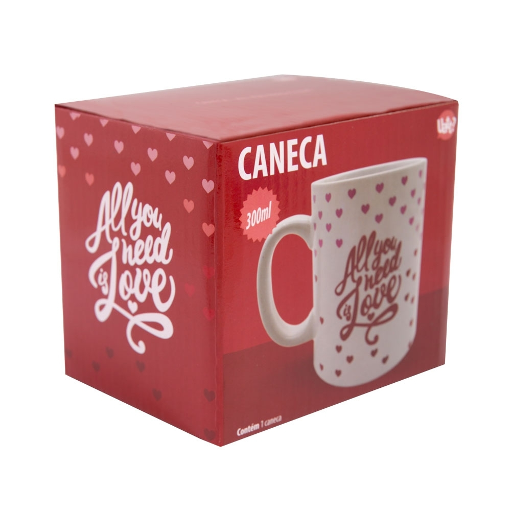 Caneca All You Need is Love - Doutor Design
