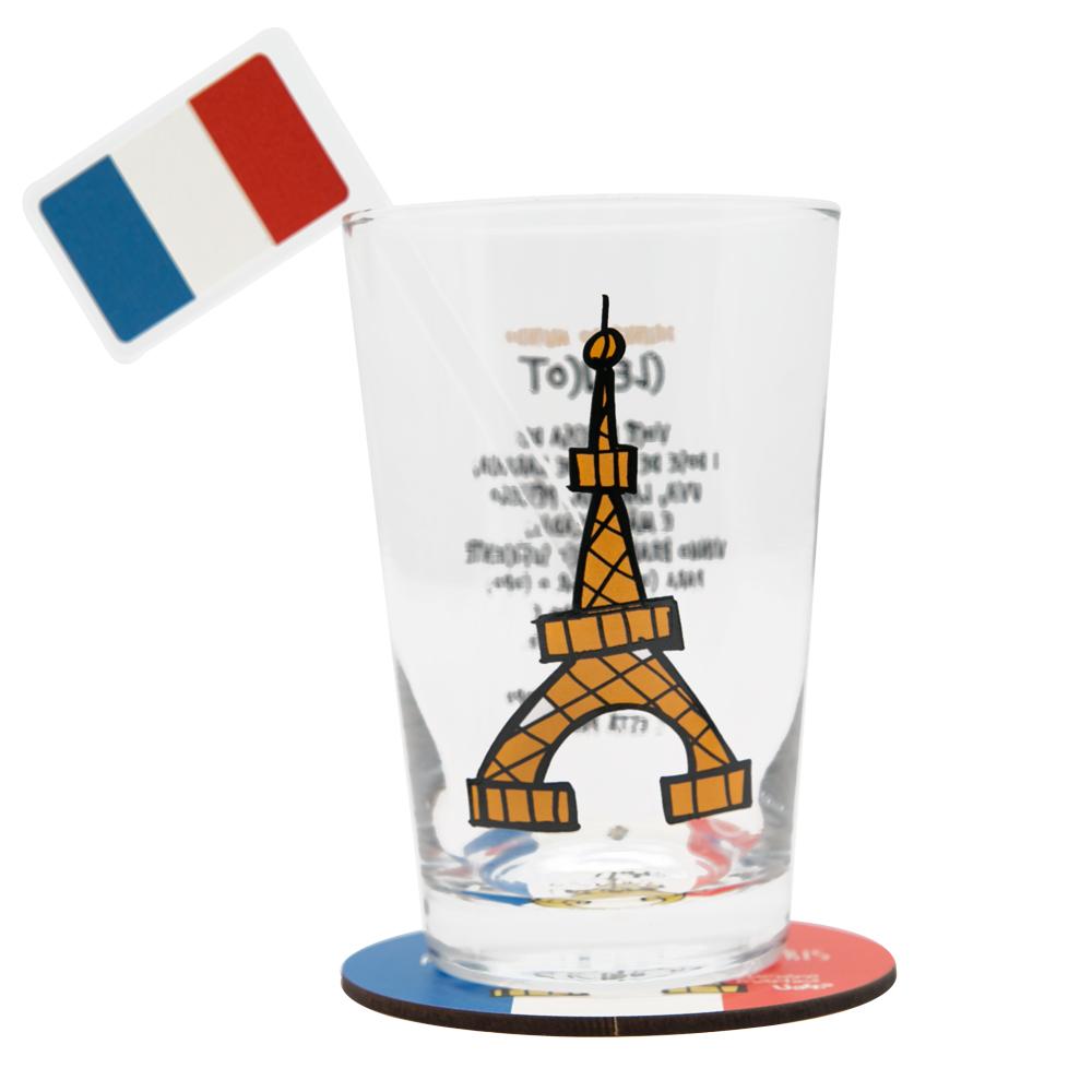 Kit Drink Copo Paris