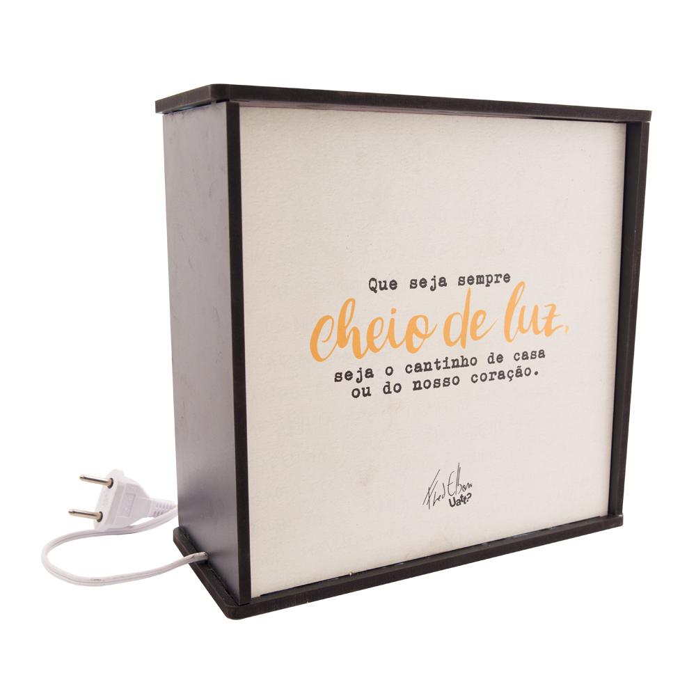 Luminária Box Nosso Universo - Doutor Design