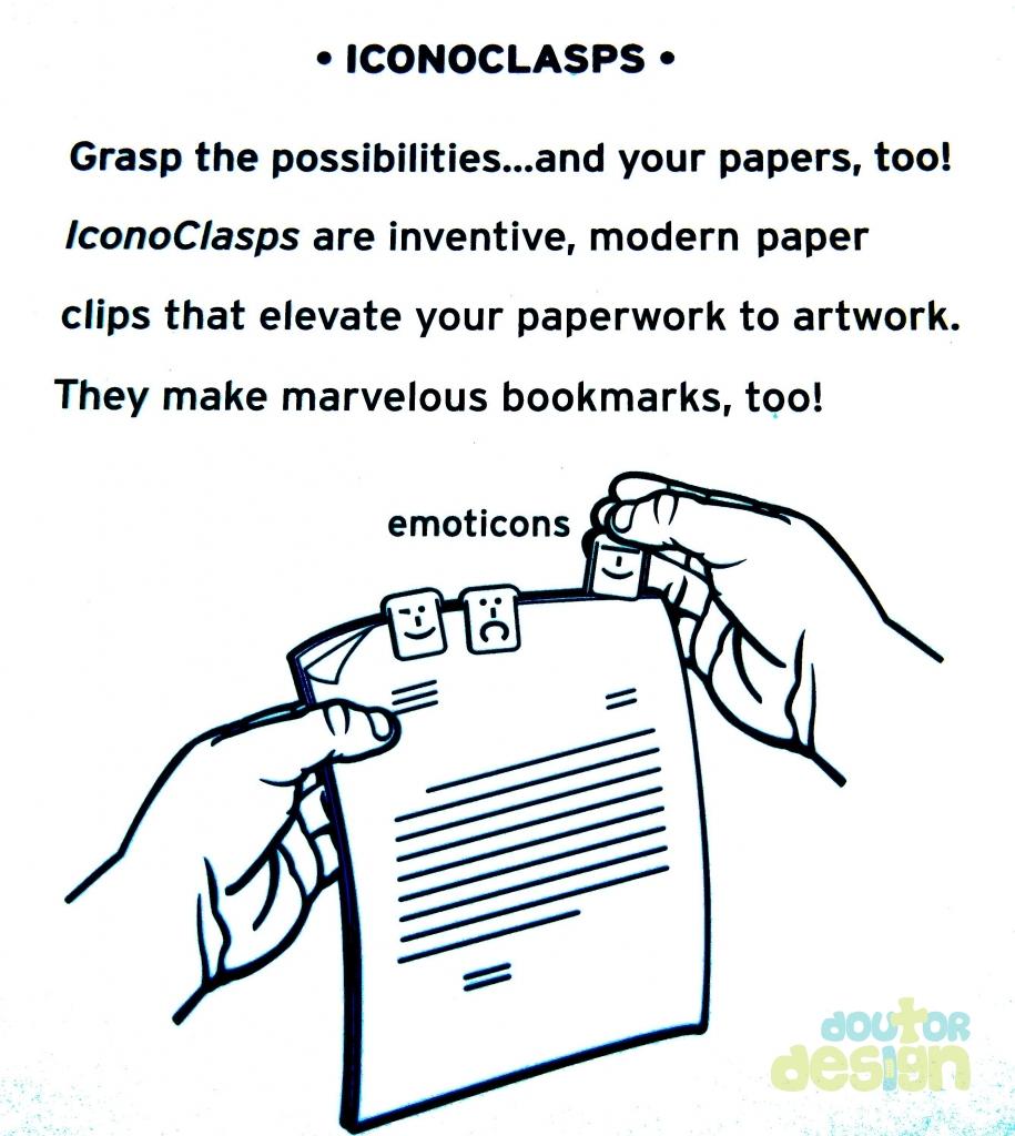 Clips Iconoclaps Emoticon  - Doutor Design