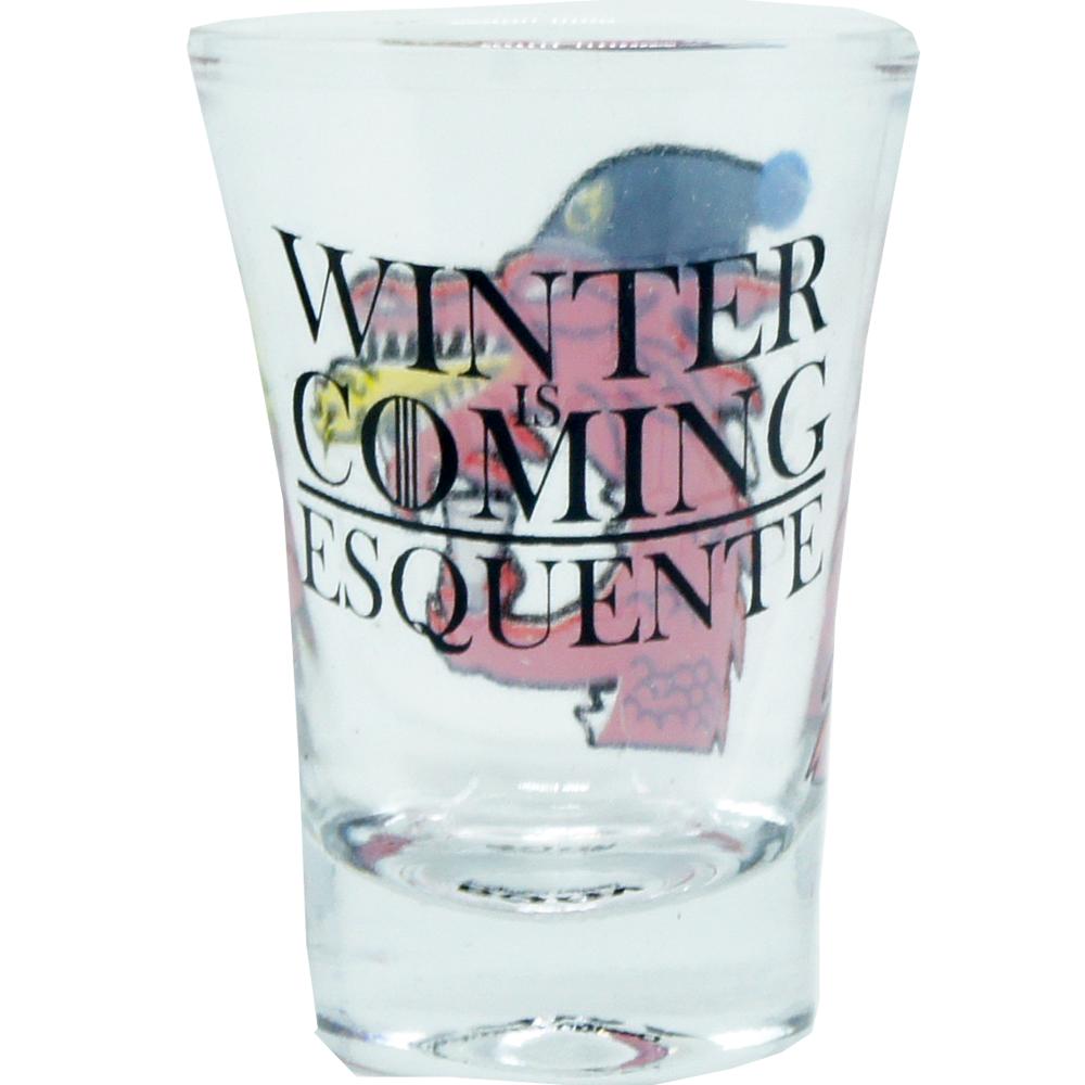 Kit 4 Copos Shot Winter is Coming - Doutor Design