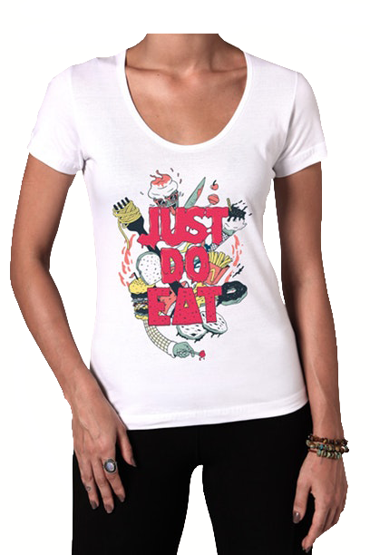Camiseta Just Do Eat - Feminino