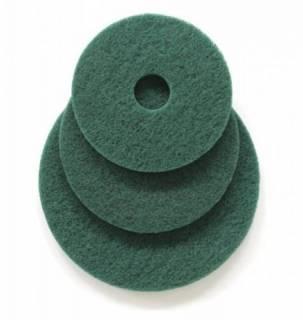Disco de Limpeza Verde para Enceradeira (pisos sem tratamento) 410mm