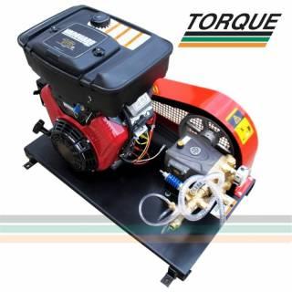 Grupo Motobomba - Motor 16 CV + Bomba Annovi Reverberi | 20l./min. | 200 bar | 3.000 libras | TORQUE SUL