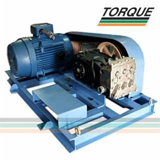 Grupo Motobomba - Motor 50 CV + Bomba Pratissoli KF 36 | 137l./min. | 140 bar | 2.000 libras | TORQUE SUL