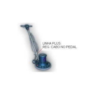 Enceradeira Industrial Cleaner 400 Plus Reg. Cabo no Pedal