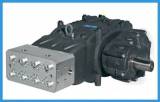 Bomba Triplex Alta pressão PRATISSOLI Mod. VK 12 - 20 l./min. | 1500 bar | 1800 RPM | TORQUE SUL
