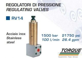 VALVULA BY-PASS RV-14-1500 | TORQUE SUL