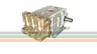 Bomba Triplex Alta Pressão - Bertolini CPQ 1316 - 125 l./min | 160 BAR | 1000 RPM